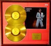 David Bowie 24 Carat Gold Double Disc + Cover - David Live
